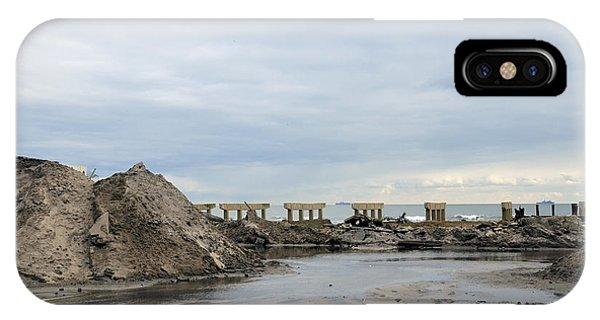 Rockaway Beach After Hurricane Sandy 4 IPhone Case