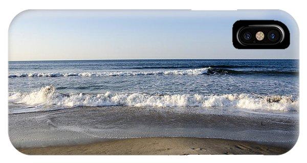 Rockaway Beach Morning Shoreline IPhone Case