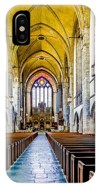 Rockefeller Memorial Chapel IPhone Case