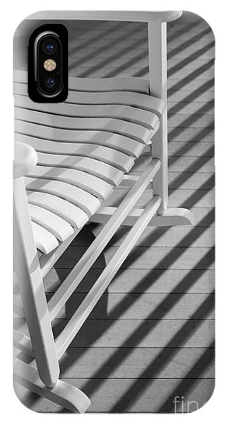 Porches iPhone Case - Rocking Chair On The Porch by Diane Diederich