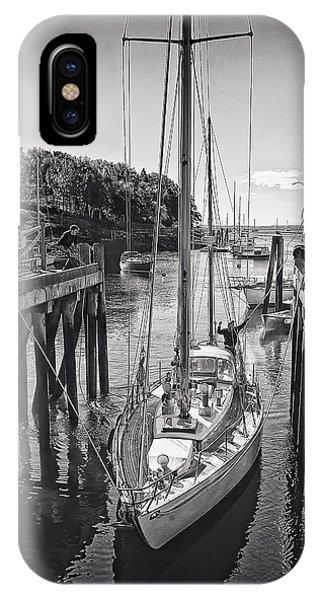 Rockport Harbor IPhone Case