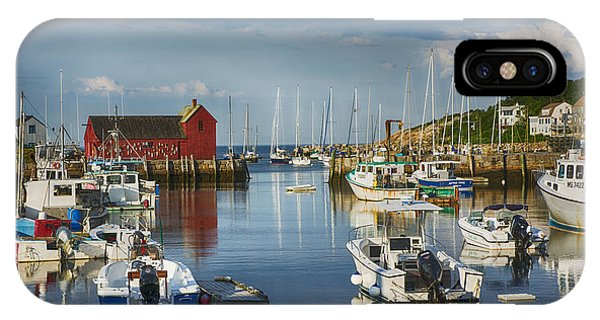 Rockport Harbor IPhone Case