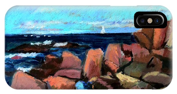 Rocks At Ogunquit IPhone Case