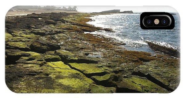 Rocks In Puerto Rico Phone Case by Sean Hughes