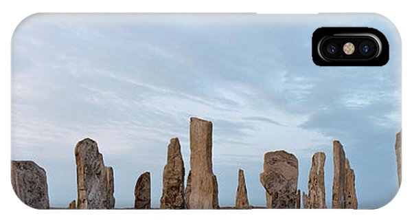 Rocks On A Landscape, Callanish IPhone Case