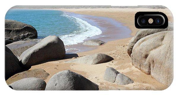 Rocks On The Beach IPhone Case