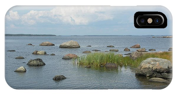 Rocks On The Baltic Sea IPhone Case