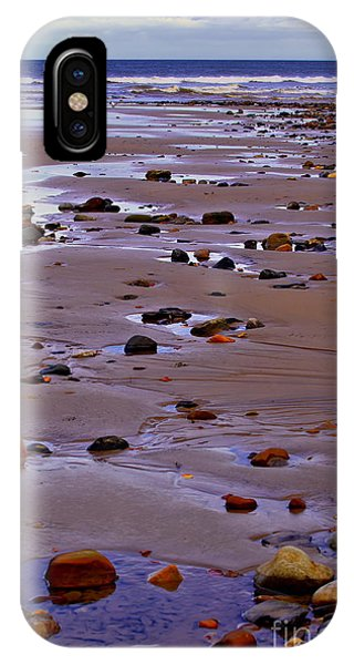 Rocks On The Seashore IPhone Case