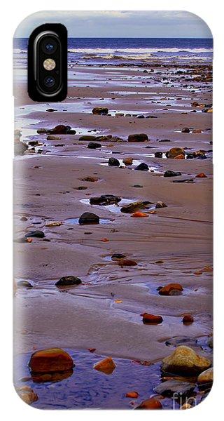 Rocks On The Seashore IPhone Case