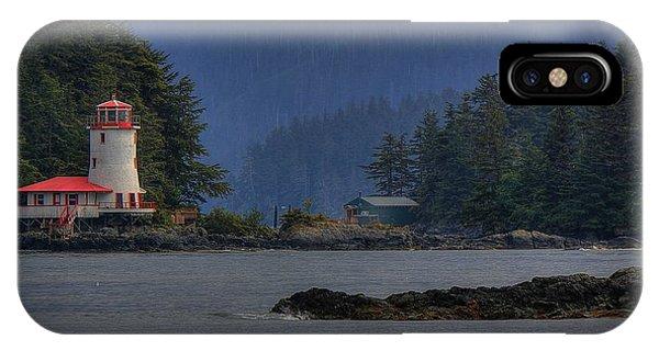 Rockwell Lighthouse Sitka Alaska IPhone Case