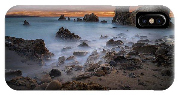 Rocky California Beach Phone Case by Larry Marshall
