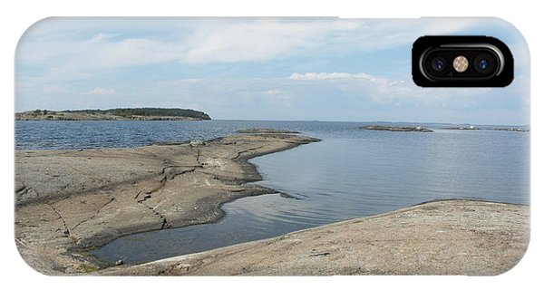 Rocky Coastline In Hamina IPhone Case