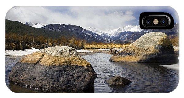 Rocky Mountain Creek IPhone Case