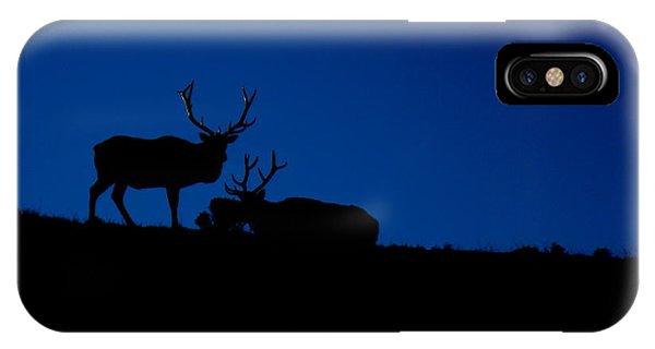 Rocky Mountain Elk Phone Case by Jeff Nelson