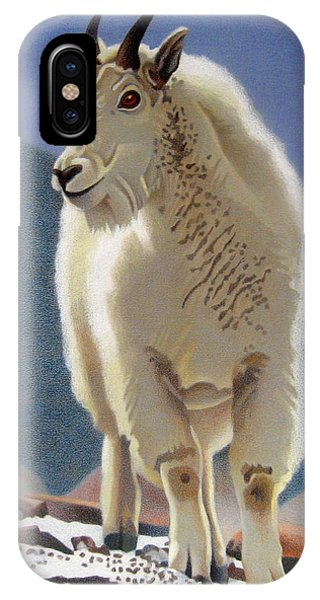Rocky Mountain Goat IPhone Case