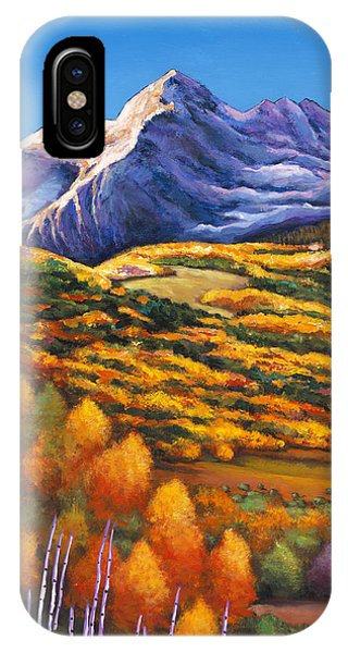 Foliage iPhone Case - Rocky Mountain High by Johnathan Harris