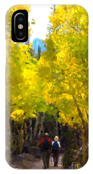 Rocky Mountain Hike IPhone Case