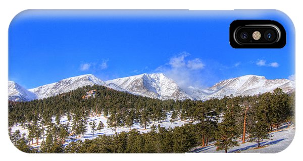 Rocky Mountain National Park 4388 IPhone Case
