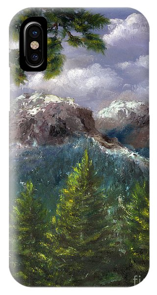 Rocky Mountains National Park Colorado IPhone Case