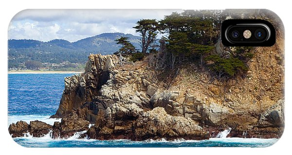 Rocky Outcropping At Point Lobos IPhone Case