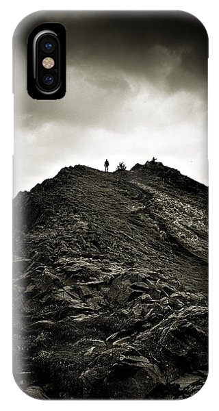 Rocky Pathway To Scotland IPhone Case