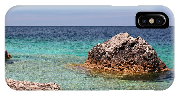 Rocky Shoals Of Tobermory IPhone Case
