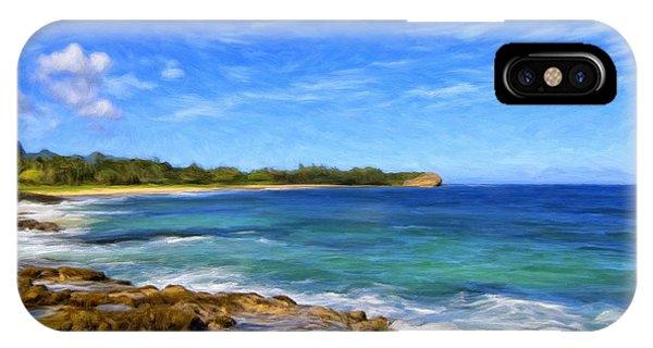 Rocky Shore Near Poipu IPhone Case