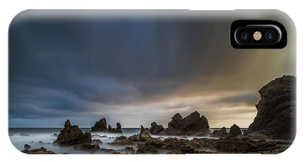 Planets iPhone Case - Rocky Southern California Beach 3 by Larry Marshall