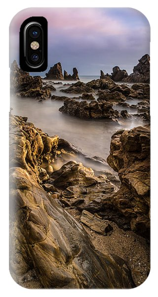 Rocky Southern California Beach 5 Phone Case by Larry Marshall