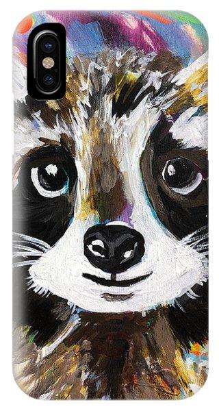 Rocky The Raccoon IPhone Case