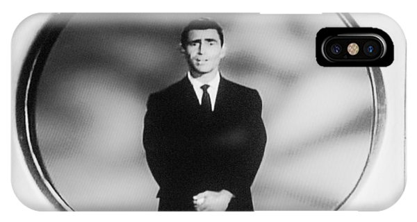 Rod Serling On T V IPhone Case