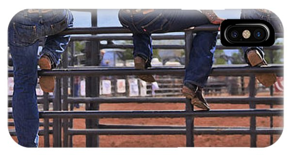 Rodeo Fence Sitters IPhone Case