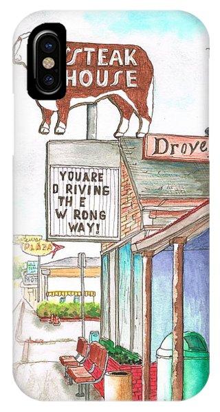 Rod's Steak House In Route 66 - Williams - Arizona IPhone Case