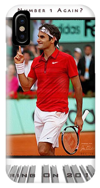 Roger Federer Number One In 2015 IPhone Case