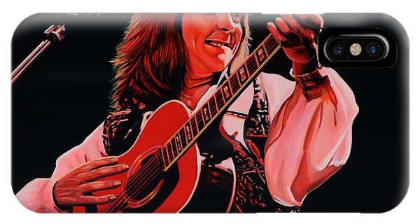 Open iPhone Case - Roger Hodgson Of Supertramp by Paul Meijering
