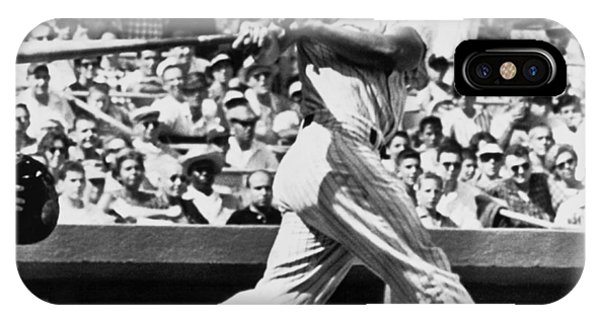 Yankee Stadium iPhone Case - Roger Maris Hits 52nd Home Run by Underwood Archives