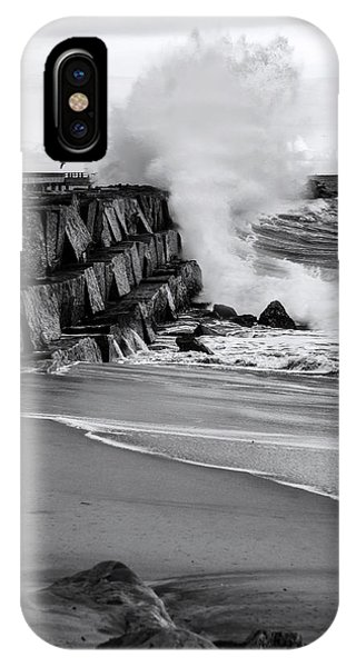 Rogue Bullet Wave Cabrillo Beach By Denise Dube IPhone Case