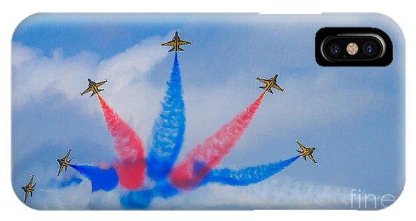 Rokaf Aerobatic Team IPhone Case