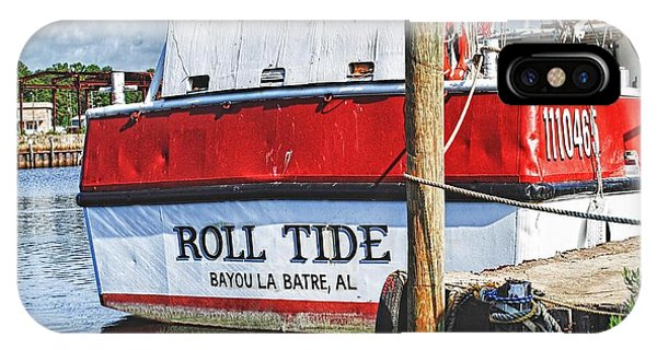 Roll Tide Stern IPhone Case
