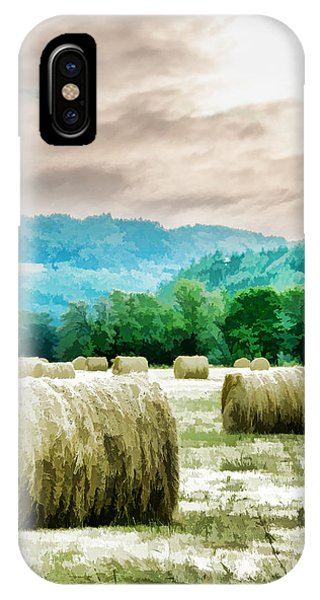 Rolled Bales IPhone Case