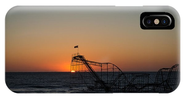Nikon iPhone Case - Roller Coaster Sunrise 2 by Michael Ver Sprill