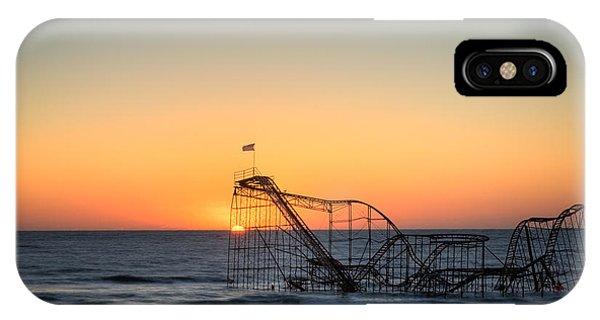 Roller Coaster Sunrise IPhone Case