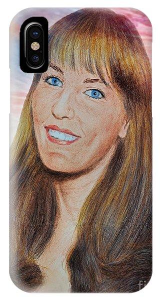 Roller Derby Star Lovely Barbara Baker IPhone Case