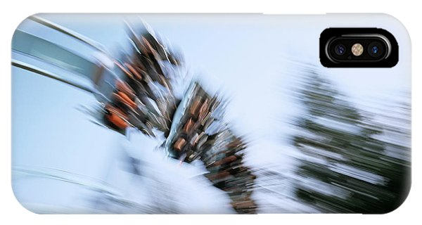 Funfair iPhone Case - Rollercoaster Ride by Adam Hart-davis/science Photo Library