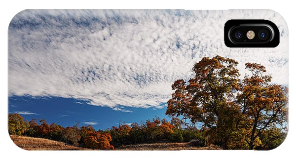 Deciduous iPhone Case - Rolling Hills Of The Texas Hill Country In The Fall - Fredericksburg Texas by Silvio Ligutti