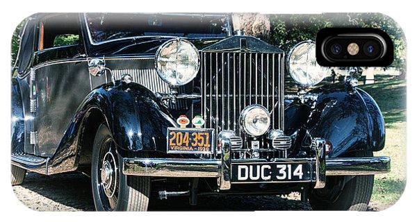 Rolling In Style 36 Rolls Royce IPhone Case
