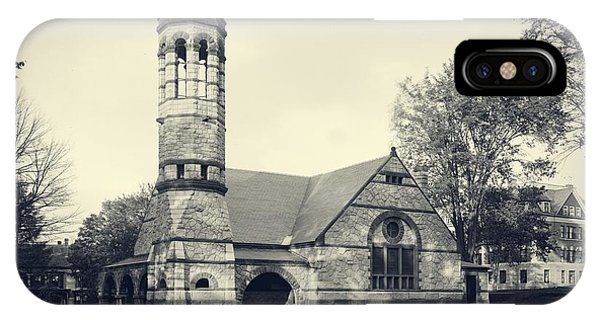 Chapel iPhone Case - Rollins Chapel Dartmouth College Hanover New Hampshire by Edward Fielding