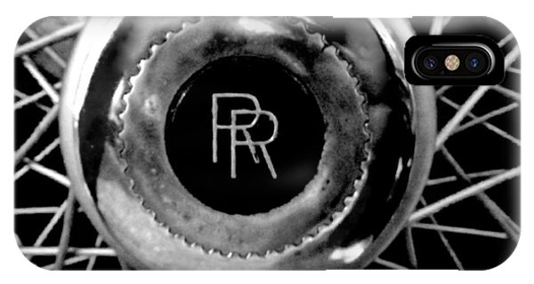Rolls Royce - Black And White IPhone Case