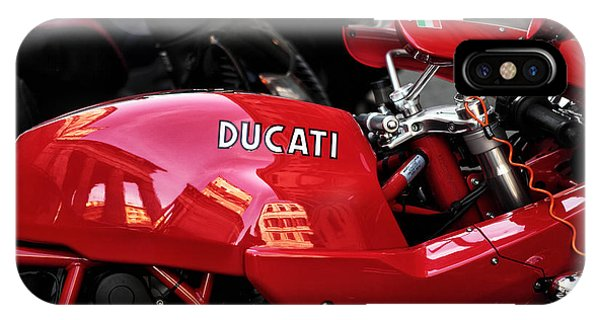 Roma Ducati IPhone Case