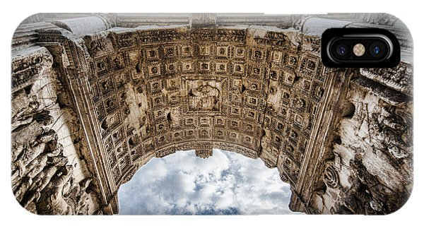 IPhone Case featuring the photograph Roman Arch by Ryan Wyckoff